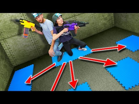 NERF Battle Tiles Challenge!