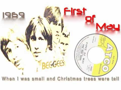 Bee Gees First Of May With Lyrics Youtube