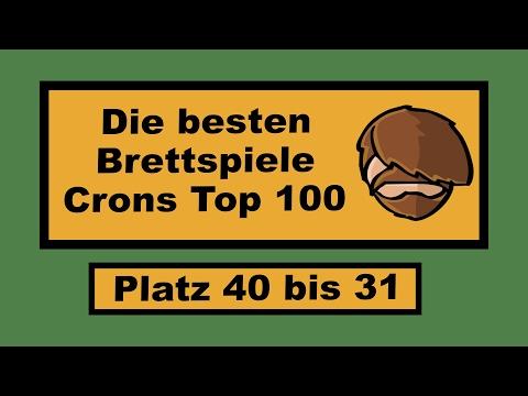 Die besten Brettspiele - Crons Top 100 (40-31) - Teil 7