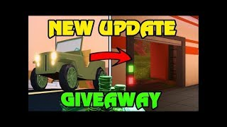 🔴 Roblox Jailbreak ALIEN INVASION HYPE! | FREE ROBUX Giveaway | MINIGAMES AND BATTLE ROYALE LIVE
