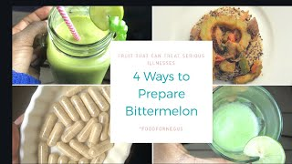 How to Prepare Bitter melon to Reverse Diabetes, and Cancer