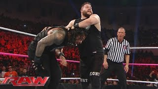 No. 1 Contender's Fatal 4-Way Match: Raw, October 26, 2015