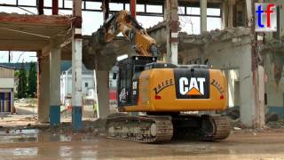 CAT 323E L, Demolition / Abbruch Bauknecht Schorndorf, Germany, 14.06.2016.