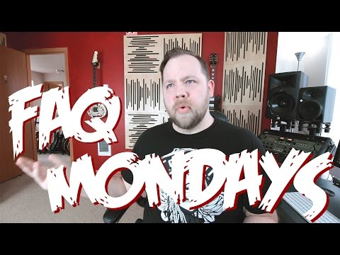 FAQ Mondays: Songwriting, Deftones & Plugins