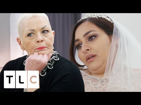 Jo and Al Are Confused Over What Dress This Bride Wants! | Curvy Brides' Boutique