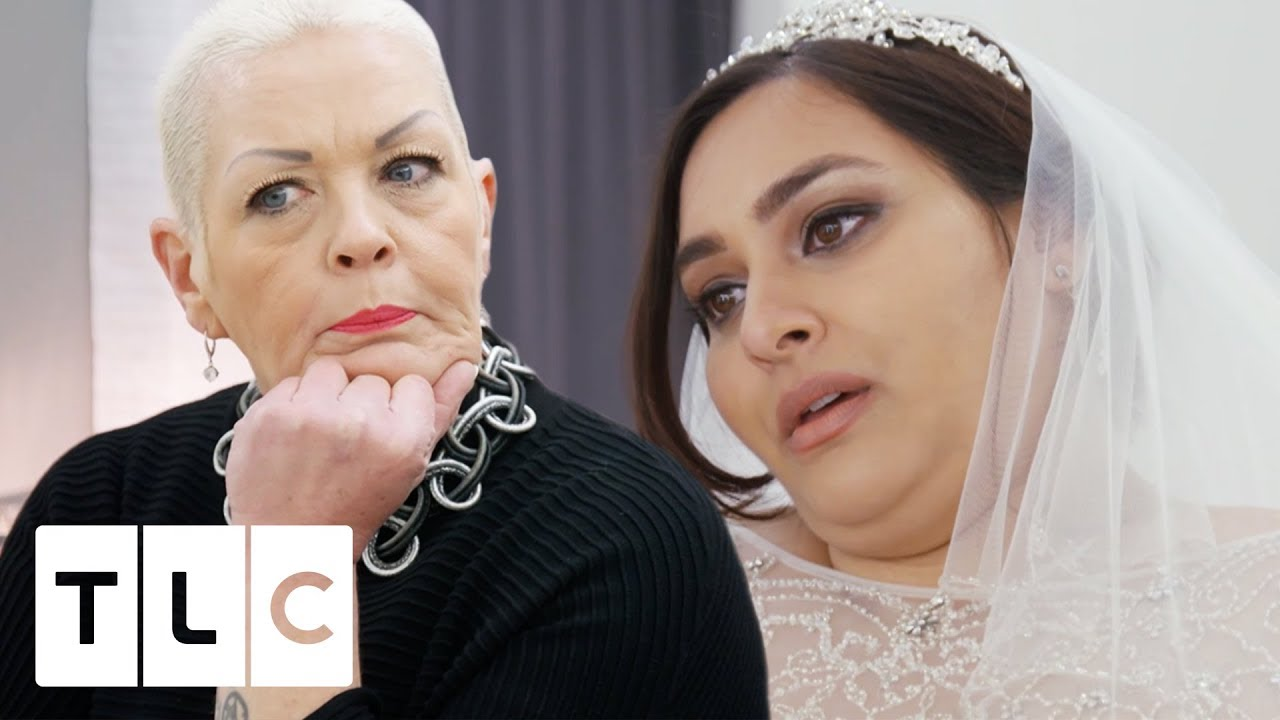 adeb80de9 Jo and Al Are Confused Over What Dress This Bride Wants! | Curvy Brides'  Boutique. tlc uk