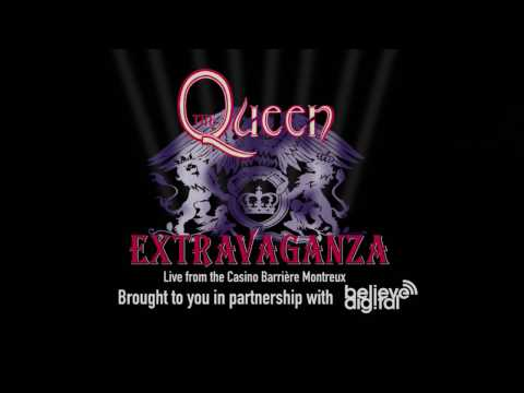 The Queen Extravaganza  at Freddie Mercurys 70th Birtay Party in Montreux