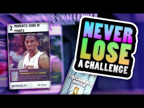 How to Score 81 Points with ANY PLAYER! NBA 2K19 MYTEAM KOBE MOMENTS CHALLENGE MADE EASY!