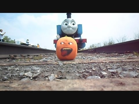 The Stupid Orange In Meeting Thomas And Percy The Train