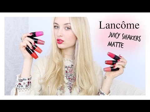 LANCÔME JUICY SHAKERS MATTE // First Impression & Swatches!
