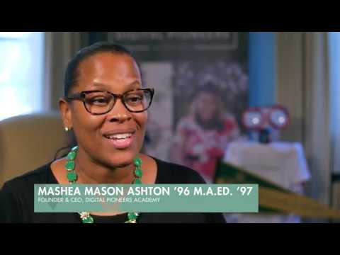 Her Story: Mashea Mason Ashton '96, M.A.Ed. '97