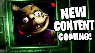 SOMETHING NEW IS COMING.... HACKING NEW AREAS!   Five Nights At Freddy's VR: Help Wanted Update