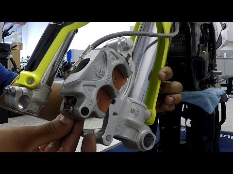 How-To | Changing Front Brake Pads | TransWorld Motocross