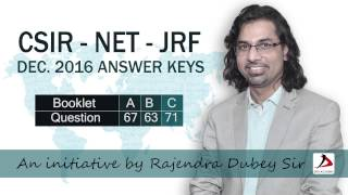 csir net dec 2016 maths answer key solution for q 63 set b