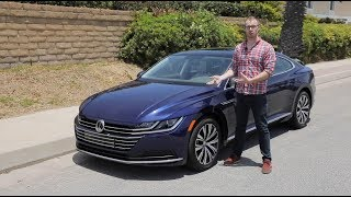 2019 Volkswagen Arteon SEL AWD 4MOTION Test Drive Video Review