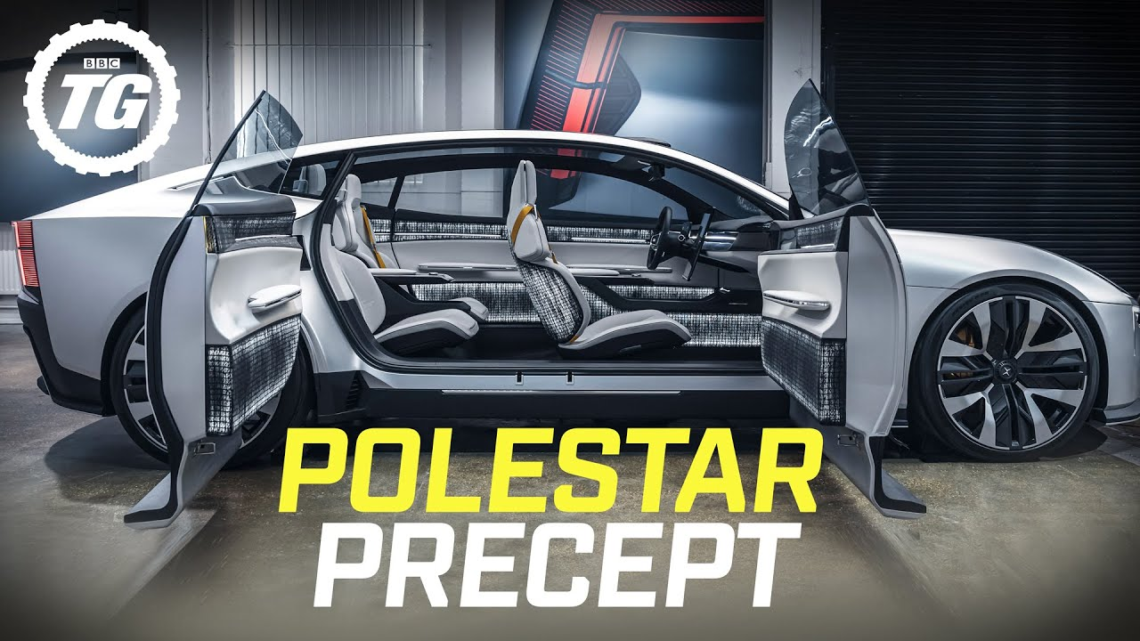 POLESTAR PRECEPT: is this recycling-obsessed EV the ultimate Tesla Model S rival? | Top Gear