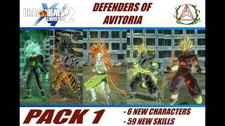 Dragon Ball Xenoverse 2 Defenders of Avitoria Modpack 1