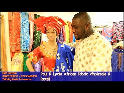 Paul & Lydia African Fabric in London
