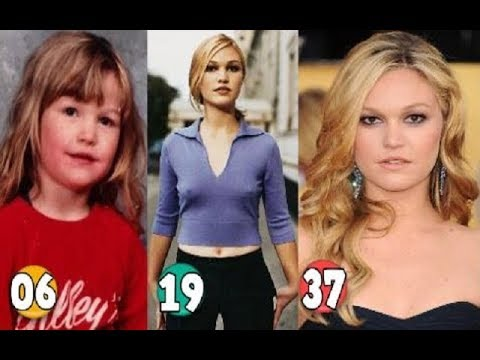 Julia Stiles Transformation From A Child To 37 Years Old