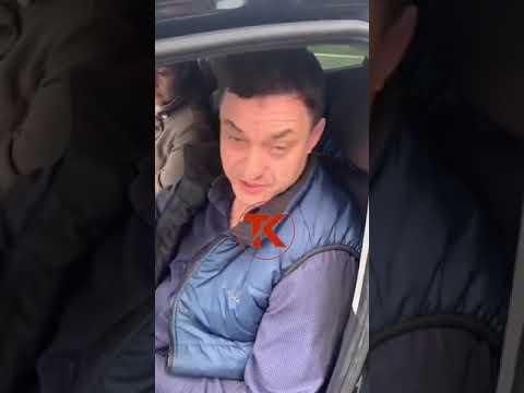 В Новороссийске зампрокурора на иномарке наехал на ногу инспектору ДПС
