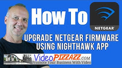 How To Update Netgear R7000 Router Firmware Using Nighthawk App