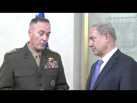 CJCS Dunford Meets Israeli Prime Minister Netanyahu