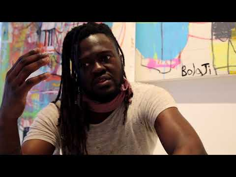 Bolaji  Galerie Proarta Residency  Thoughts on painting