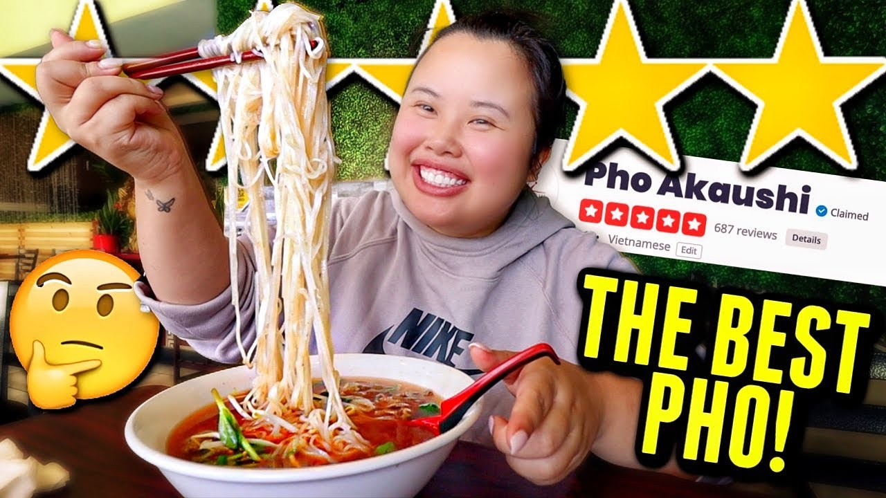 "EATING AT THE BEST 5 STAR REVIEWED ""Vietnamese Phở"" RESTAURANT MUKBANG 먹방 EATING SHOW (BEEF NOODLES)"