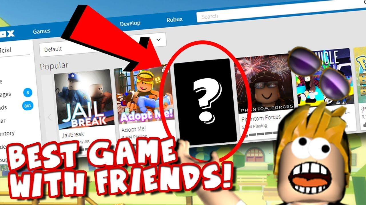The Best Game To Play With Friends In Roblox Youtube