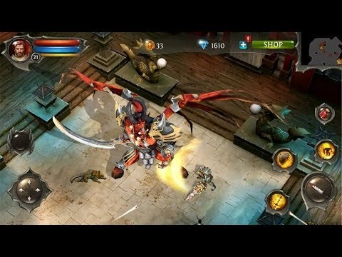 Dungeon Hunter 4 Gameplay