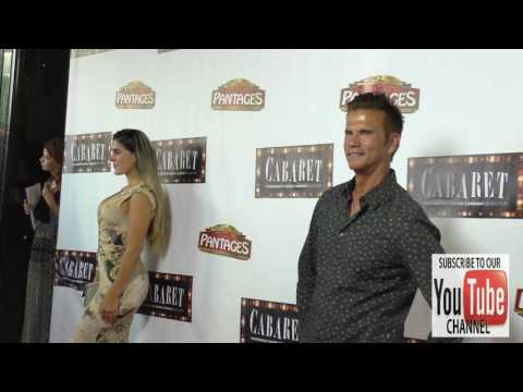 Lorenzo Lamas and Shawna Craig at the Opening Of Cabaret At Hollywood Pantages Theatre