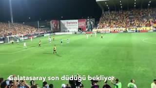 Şampiyon Galatasaray   Göztepe Galatasaray Maçının Hikayesi