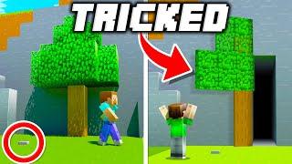 9 Secret Bases Hidden in Plain Sight in Minecraft!