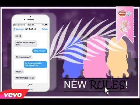 New Rules By Dua Lipa || WNS Music Video || Woozworld