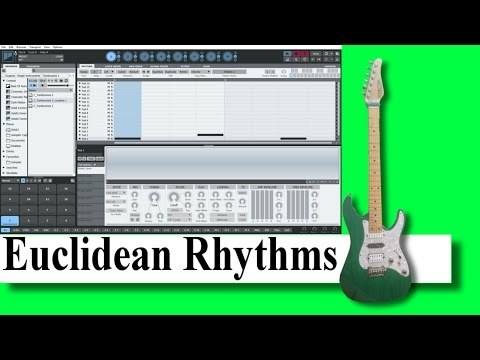Ethnic beats using the Euclidean rhythms
