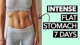 1 Week Flat Stomach Workout (Intense!)