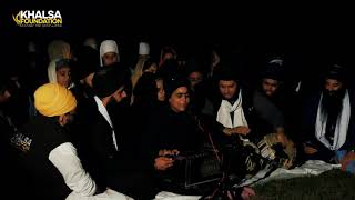 Camp Fire Keertan - Bibi Mandeep Kaur - Khalsa Camp UK