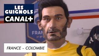 Didier Deschamps prépapre les joueurs de l'équipe de France  - Les Guignols - CANAL+