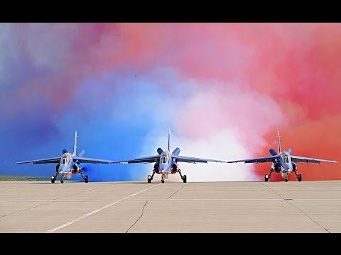 PAF - Patrouille de France - at Paris Air Show 2015