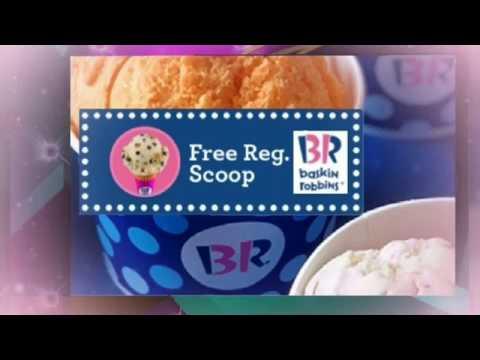 #Baskin Robbins - #Couponing • #FREE Ice Cream Scoop