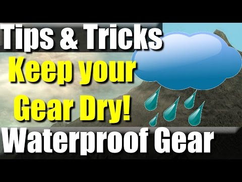 VR: How to Waterproof your Gear | RevHiker