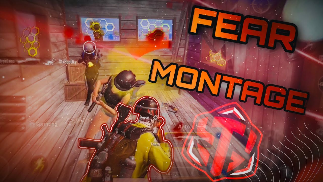 Competitive Montage | Fear Highlights | PUBG MOBILE