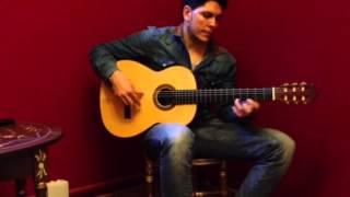 "Guitarra flamenca Tomatito ""La Chanca"" Negra 2011 en venta"