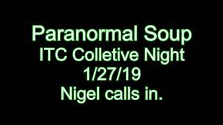 Nigel calls in ITC Night with Josh Louis