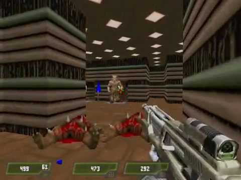 Doom 2 Mod Quake 4 Weapons Gameplay Part 4/4 Full