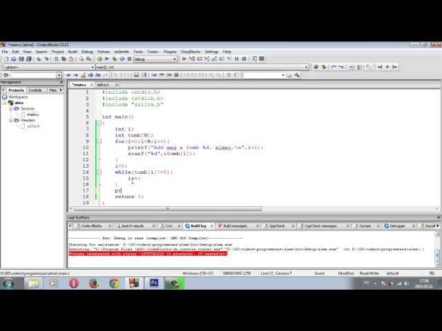 Programozási Tételek - Kiválasztás