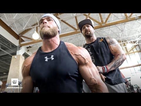 Delt Annihilation Shoulder Workout with Dr. Kaleb Redden | Kris Gethin