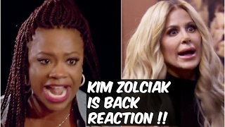 RHOA : KIM IS BACK! KANDI PILLOW FIGHT PART 2! REACTION