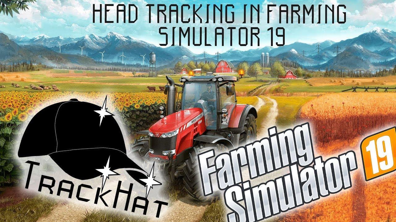 Farming Simulator 19 - Head tracking with TrackHat