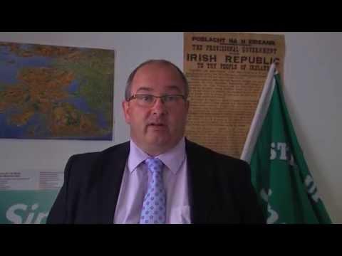 Sinn Fein Fair Recovery Senator Trevor O Clochartaigh